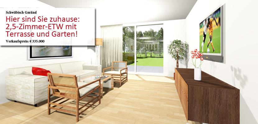 immobilien schw bisch gm nd immobilienmakler schw bisch gm nd ingrid fiedler. Black Bedroom Furniture Sets. Home Design Ideas